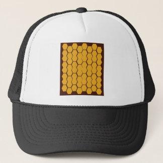Casquette Le miel de conception bloque l'or