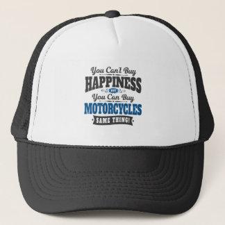 Casquette Le motocycliste ne peut pas acheter le bonheur
