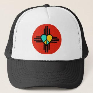 Casquette Le Nouveau Mexique, amour, paix