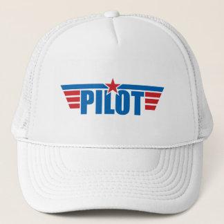 Casquette Le pilote s'envole l'insigne - aviation