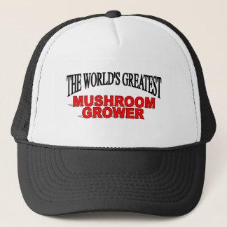 Casquette Le plus grand cultivateur du champignon du monde