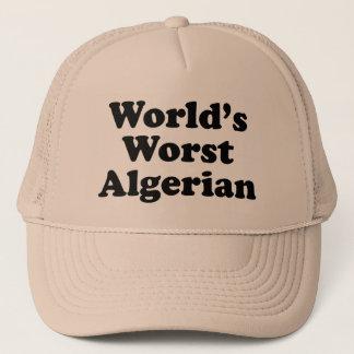 Casquette Le plus mauvais Algérien du monde