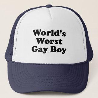 Casquette Le plus mauvais garçon gai du monde