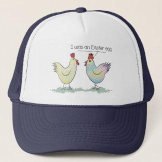 Casquette Le poulet drôle était un oeuf de pâques
