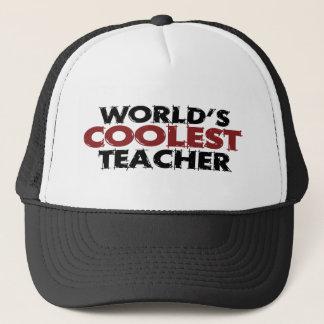 Casquette Le professeur le plus frais des mondes