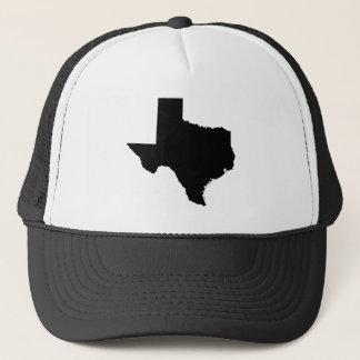 Casquette Le Texas en noir et blanc