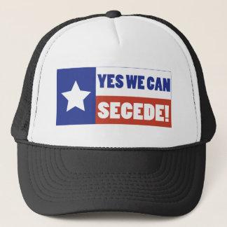 Casquette Le Texas font cécession