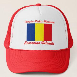 Casquette Le vampire redresse le mouvement - délégué roumain