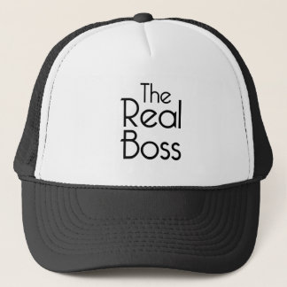 Casquette Le vrai patron