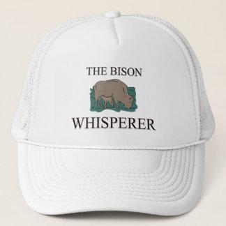 Casquette Le Whisperer de bison