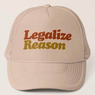 Casquette Légalisez la raison