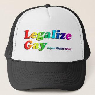 Casquette Légalisez l'homosexuel