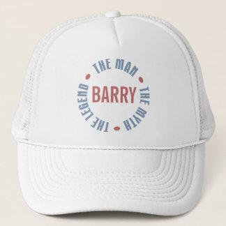Casquette Légende de mythe d'homme de Barry personnalisable