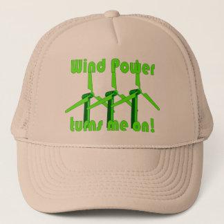 Casquette L'énergie éolienne m'allume