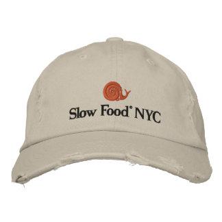 Casquette lent de la nourriture NYC
