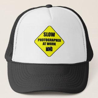 casquette lent de photographe