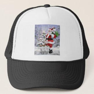 Casquette Les aides de Père Noël