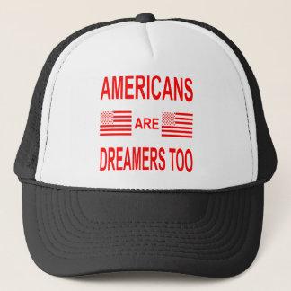 Casquette Les Américains sont des rêveurs aussi