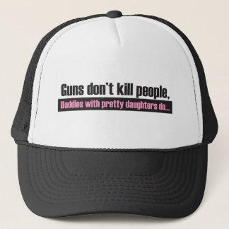 Casquette Les armes à feu ne tuent pas des personnes