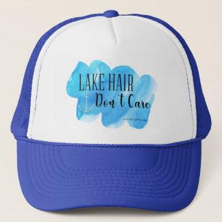 Casquette Les cheveux de lac ne s'inquiètent pas
