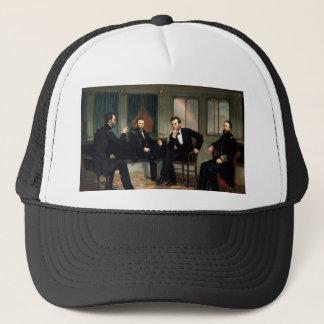 Casquette Les conciliateurs avec Abraham Lincoln