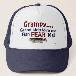 Casquette Les enfants grands de Grampy… m'aiment que les