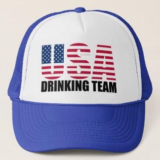 Casquette Les Etats-Unis buvant l'équipe