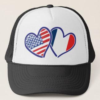 Casquette LES Etats-Unis---France-Amour