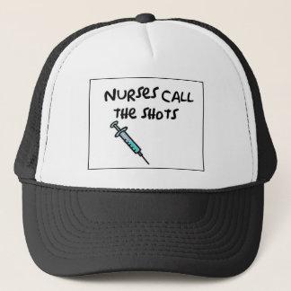 Casquette Les infirmières appellent les tirs