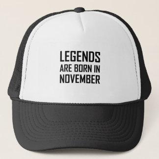 Casquette Les légendes sont nées en novembre