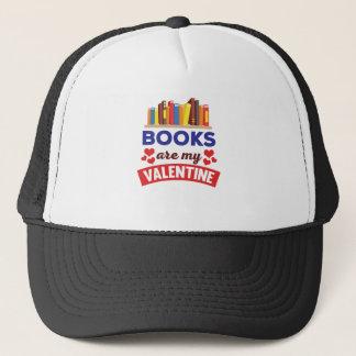 Casquette Les livres mignons sont ma copie de Valentine