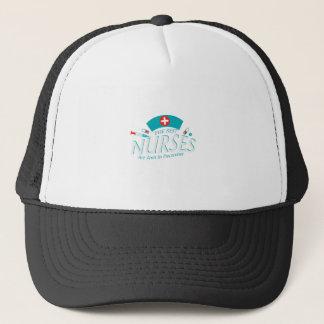 Casquette Les meilleures infirmières sont en décembre cadeau