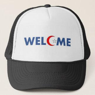 Casquette Les musulmans souhaitent la bienvenue ici