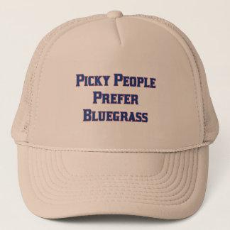 Casquette Les personnes difficiles préfèrent le Bluegrass