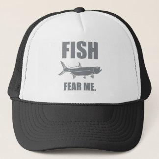 Casquette Les poissons me craignent