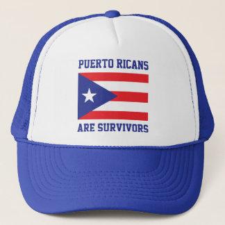 Casquette Les Portoricains sont drapeau de déclaration de