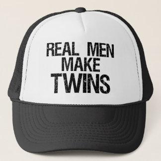 Casquette Les vrais hommes font des jumeaux