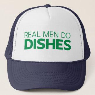 Casquette Les vrais hommes font des plats