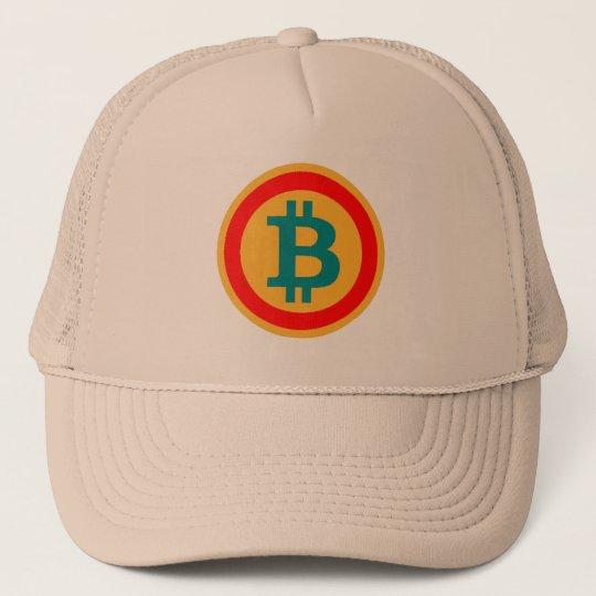 """casquette lettre B comme """"bitcoin"""""""