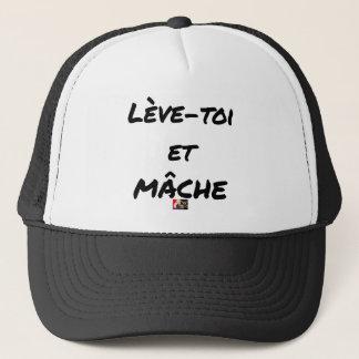 Casquette LÈVE-TOI ET MÂCHE - Jeux de mots - Francois Ville