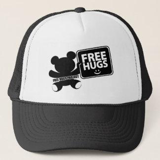 Casquette libre de camionneur d'ours d'étreintes