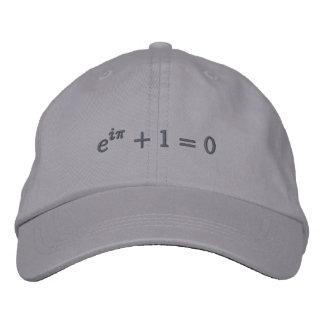 Casquette : L'identité d'Euler brodée, petit, gris