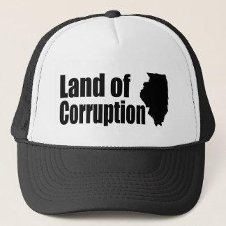 Casquette L'Illinois : Terre de la corruption