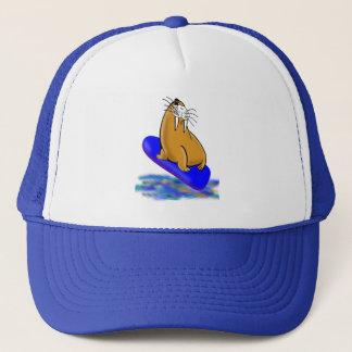 Casquette L'imbécile le morse va surfer