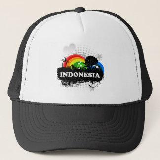 Casquette L'Indonésie fruitée mignonne