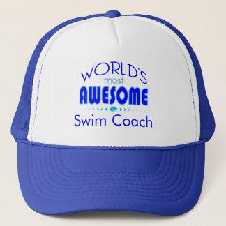 Casquette L'instructeur de natation d'entraîneur du bain le