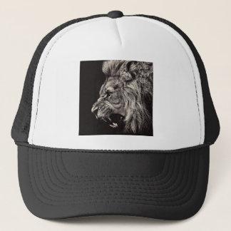 Casquette Lion masculin fâché