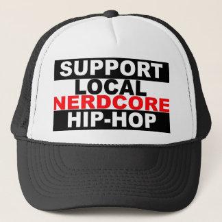 Casquette local de hip-hop de Nerdcore de soutien