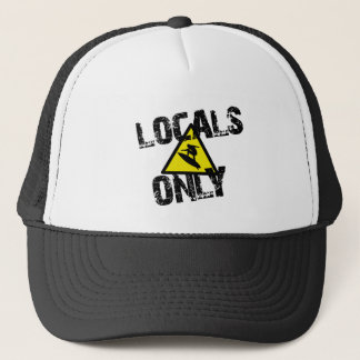 Casquette Locals only surfer danger sign surf