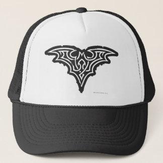Casquette Logo blanc noir urbain du symbole | de Batman